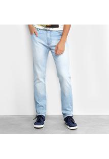 Calça Coca Cola Calca Jeans Super Skinny Clara 13201996 - Masculino-Jeans