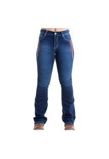 Calça West Dust Carolina Hill Bootcut Jeans Escuro