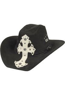 Chapéu De Couro Legitimo Modelo Americano Country Style Largadão - Masculino