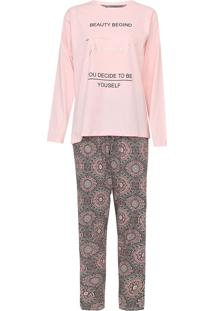Pijama Pzama Beauty Rosa