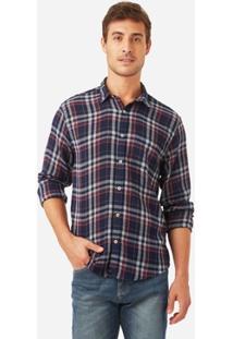 Camisa Foxton Ml Xadrez Gaze Masculina - Masculino