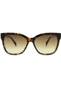 Hickmann Hi9083 - Tartaruga/Dourado - G21/61 - Óculos De Sol