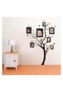 Adesivo De Parede Árvore Da Família - Eg 154X107Cm