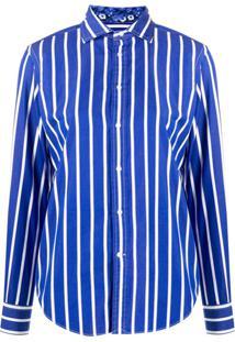 Polo Ralph Lauren Stripe Print Shirt - Azul