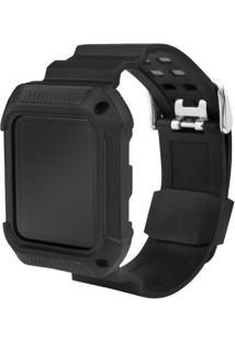 Pulseira Armor Gorila Shield Para Apple Watch 42Mm Preto