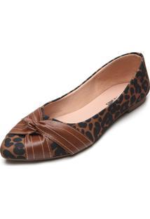 Sapatilha Dafiti Shoes Onça Marrom - Kanui