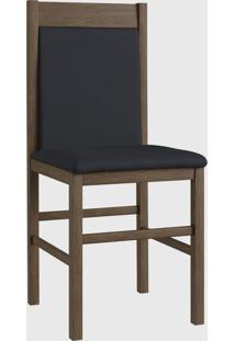 Cadeira Mad 600 Par Marrom Móveis Canção