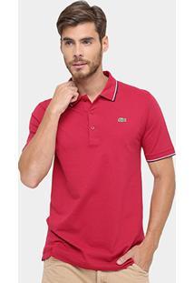 Camisa Polo Lacoste Básica - Masculino
