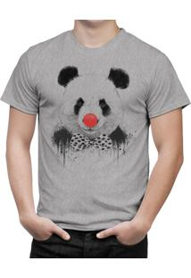 Camiseta Bottonshirt Clown Panda Mescla