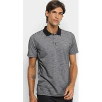 Camisa Polo Hurley Start Masculina - Masculino-Preto 1a4829e3bcd1b