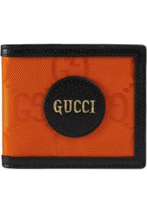 Gucci Carteira Dobrável Off The Grid Gg Supreme - Laranja