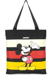 Bolsa Tote Bag Luxcel Mickey Listrada