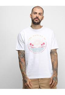 Camiseta Hurley Silk Killing It Masculina - Masculino-Branco