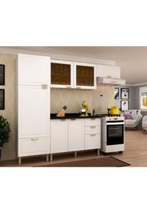 Cozinha Compacta Nevada Ii 7 Pt 4 Gv Branca