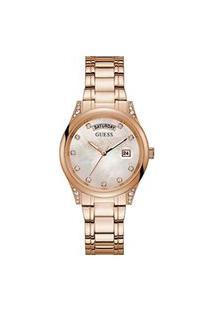 Relógio Feminino Analógico Rosê Guess – Gw0047L2 Rosa