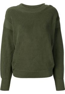 Moncler Suéter De Tricô - Verde