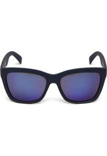 Óculos De Sol Polo London Club Fosco Azul-Marinho