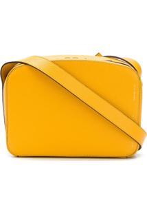 Victoria Beckham Bolsa Tiracolo Retangular Com Zíper - Amarelo