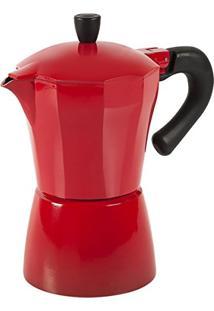 Cafeteira Verona 300Ml Alumínio Vermelha 2190120 Brinox