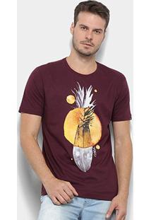 Camiseta O'Neill Bordapple Masculina - Masculino-Vinho