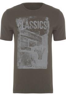 Camiseta Masculina 1978 Corrosão - Verde