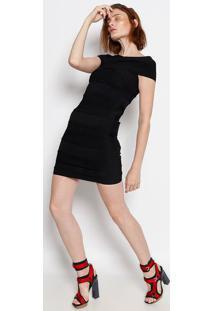 Vestido Ombro A Ombro - Preto - Versaceversace