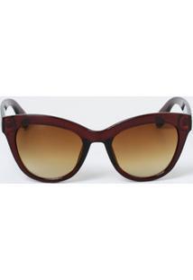 Óculos Feminino De Sol Gateado Vintage Marisa
