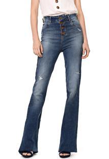 Calça Jeans Colcci Flare Karen Azul
