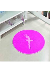 Tapete Dourados Enxovais Formato Bailarina Pink