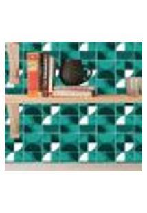 Adesivo De Azulejo Tons Verdes 15X15Cm