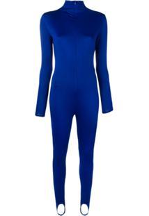 Atu Body Couture Macacão Slim - Azul