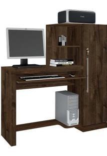 Escrivaninha Mesa Para Computador Aroeira Candian Jcm Movelaria