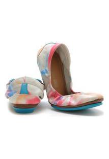 Sapatilha Bailarina Feminina Confortável Keston - 46001- Colorido
