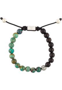 Nialaya Jewelry Pulseira Com Turquesa - Estampado
