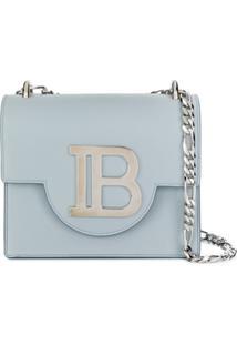 Balmain Bolsa Transversal Bbag 18 - Azul