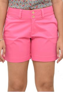 Short Tecido Energia Fashion Rosa