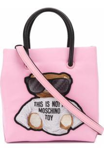 Moschino Bolsa Tote Teddy Bear Mini - Rosa