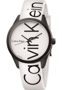Relógio Silicone - Branco - U