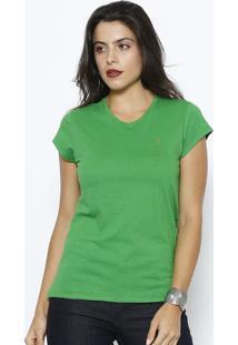 Camiseta Lisa - Verdeclub Polo Collection
