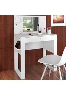 Penteadeira Com Espelho Pluma Branco - Art In Móveis