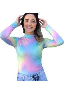Body D Bell Tie Dye Feminino - Feminino-Coral