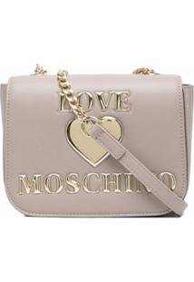 Love Moschino Bolsa Tiracolo Matelassê - Neutro