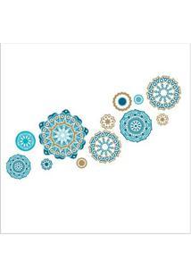Adesivo De Parede Mosaicos Grudado Adesivos