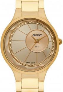 Relógio Orient Fgss0116 C1Kx Feminino - Feminino-Dourado