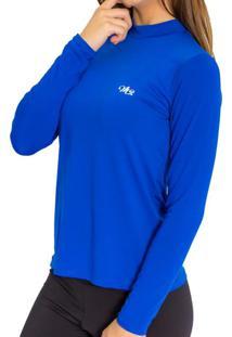 Camiseta Térmica Manga Longa Mprotect Azul