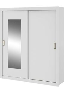 Guarda-Roupa Apoena Plus Com Espelho - 2 Portas - Branco