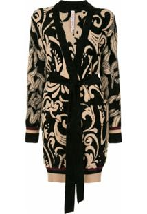 Antonio Marras Cardigan De Tricô Com Padronagem - Estampado