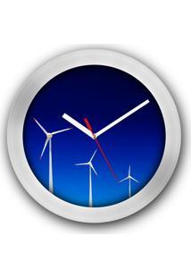 Relógio De Parede Colours Creative Photo Decor Decorativo, Criativo E Diferente - Torres Eólicas