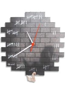 Relógio De Parede Preso Geek10 - Multicolorido