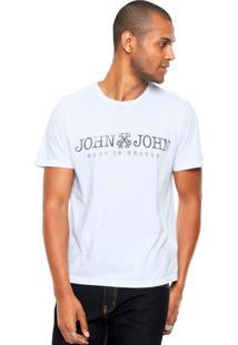 Camiseta John John Jj Basic Branca